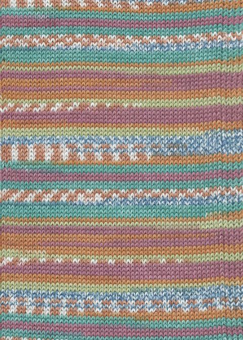 Lang Yarns BABY COTTON COLOR 159 fun fairisle print